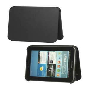 Premium Book Cover Case for Samsung Galaxy Tab 2 7.0 P3100 P3110 - Black