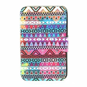 Rotary Stand Smart Leather Case for Samsung Galaxy Tab 3 7.0 P3210 - Aztec Tribal Pattern