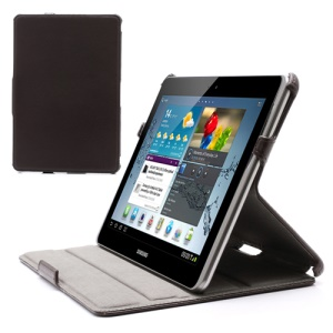 Superb Folio PU Leather Stand Case for Samsung Galaxy Tab 2 10.1 P5100 P5110 P7510 - Coffee