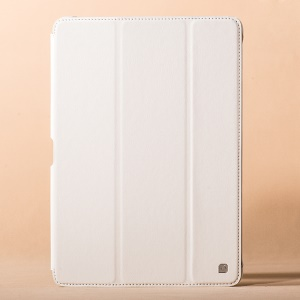 HOCO Crystal Series Retro Leather Flip Case for Samsung Galaxy Note 10.1 P600 (2014 Edition) - White