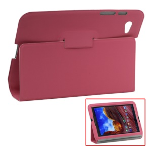 Ultra Slim Stand Leather Case for Samsung Galaxy Tab 7.7 P6800 P6810 - Pink