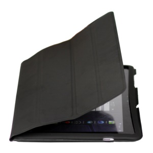 Ultra Slim Leather Case for Samsung Galaxy Tab 10.1 P7510 P7500 - Black