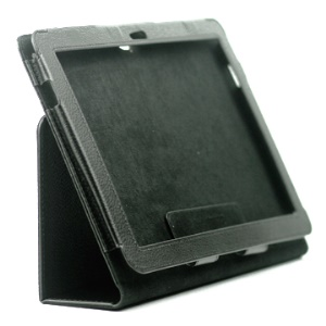 Noble PU Leather Case with Built-in Stand for Samsung Galaxy Tab 10.1 P7510 P7500;Red