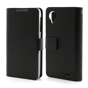 Doormoon Genuine Protective Leather Wallet Case for Lenovo Lephone P770