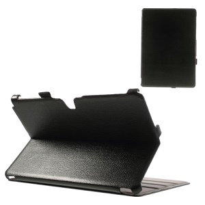 Black Classic Folio Stand Leather Case for Samsung Galaxy Note Pro 12.2 P900 / Tab Pro 12.2 T900