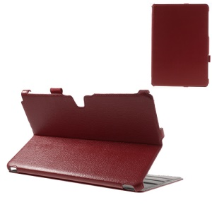 Red Classic Folio Stand Leather Cover for Samsung Galaxy Note Pro 12.2 P900 / Tab Pro 12.2 T900