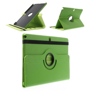 Green 360 Swivel Stand Lychee Leather Skin Case for Samsung Galaxy Note Pro 12.2 P900 / Tab Pro 12.2 T900