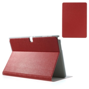 Red for Samsung Galaxy Note Pro 12.2 P900 / Tab Pro 12.2 T900 Oracle Grain Leather Case Accessory