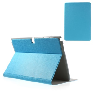 Blue for Samsung Galaxy Note Pro 12.2 P900 / Tab Pro 12.2 T900 Oracle Grain PU Leather Cover