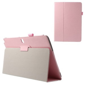 Crazy Horse Leather Tablet Case for Samsung Galaxy Note Pro 12.2 P900 / Tab Pro 12.2 T900 - Pink