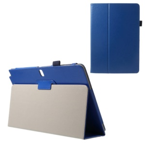 Crazy Horse Stand Leather Skin Case for Samsung Galaxy Note Pro 12.2 P900 / Tab Pro 12.2 T900 - Blue