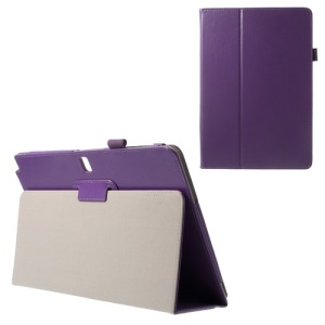 Crazy Horse PU Leather Case for Samsung Galaxy Note Pro 12.2 P900 / Tab Pro 12.2 T900 - Violet Purple