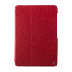 HOCO Crystal Series Retro Leather Stand Case for Samsung Galaxy Note Pro 12.2 P900 / Tab Pro 12.2 T900 - Red
