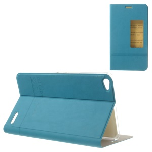Baby Blue S View Awakening Leather Tablet Case Stand for Huawei MediaPad X1 7.0