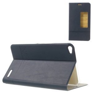 Dark Blue S View Awakening Leather Skin Case for Huawei MediaPad X1 7.0 w/ Stand