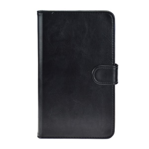 Black for Huawei MediaPad X1 7.0 Crazy Horse Leather Stand Cover
