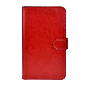 Red for Huawei MediaPad X1 7.0 Crazy Horse Leather Stand Cover
