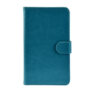 Light Blue Crazy Horse Leather Stand Case for Huawei MediaPad X1 7.0