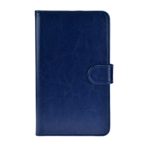 Dark Blue Crazy Horse Leather Stand Case for Huawei MediaPad X1 7.0