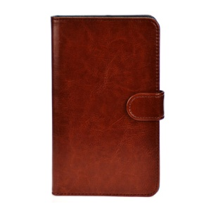 Brown Crazy Horse Leather Stand Shell for Huawei MediaPad X1 7.0