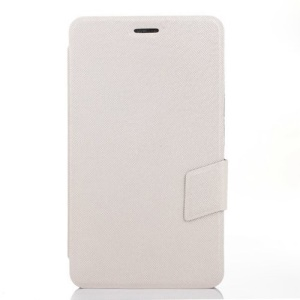 White Cross Texture Leather Stand Cover for Huawei MediaPad X1 7.0