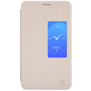 Nillkin Sparkle Series for Huawei MediaPad X1 7.0 S View Leather Cover - Champagne Gold