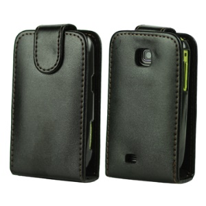 Vertical Leather Case with Magnetic Flip for Samsung Galaxy Mini S5570 S5570i