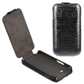 Elegant Crocodile Skin Vertical  Flip Leather Case for Samsung Galaxy Ace S5830
