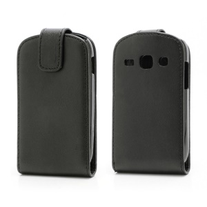 Vertical Magnetic Leather Flip Case Cover for Samsung Galaxy Fame S6810