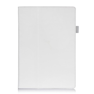Magnetic Leather Case w/ Stand & Card Slots for Microsoft Surface Pro 3 - White