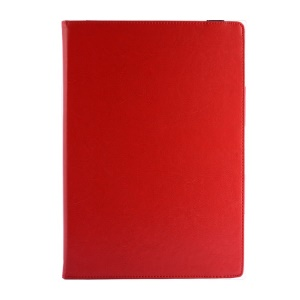 Crazy Horse PU Leather Cover Case w/ Kickstand for Microsoft Surface Pro 3 - Red
