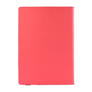 For Microsoft Surface Pro 3 Textured PU Leather Folio Cover with Kickstand - Red