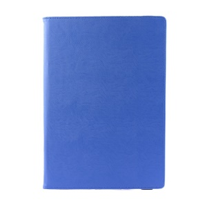 For Microsoft Surface Pro 3 Folio Textured PU Leather Shell with Kickstand - Blue