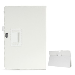 Litchi Leather Case Cover Stand for Microsoft Surface Windows RT - White