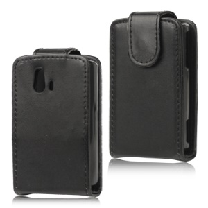 Vertical Leather Flip Case for Sony Ericsson Xperia Mini ST15i ST15a