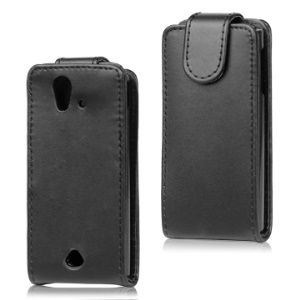 Leather Flip Case for Sony Ericsson Xperia Ray ST18i ST18a