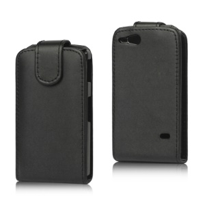 Vertical PU Leather Flip Case for Sony Xperia Go ST27i ST27a