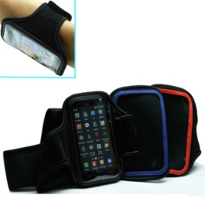 Soft Sport Gym Armband Case for Samsung I9100 Galaxy S II etc,Max Inner volume:12.5x 7.0 x 2.0cm