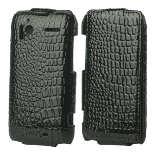 Crocodile Skin Vertical Leather Flip Case for HTC Sensation 4G G14 XE