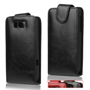 Vertical Flip Leather Case Cover for HTC sensation XL X315e G21