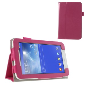 Rose Crazy Horse Leather Tablet Cover for Samsung Galaxy Tab 3 7.0 Lite T110 T111