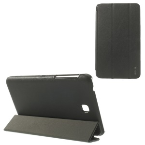 BELK Tri-fold Stand Smart Leather Cover for Samsung Galaxy Tab 4 7.0 T230 T231 T235 - Black