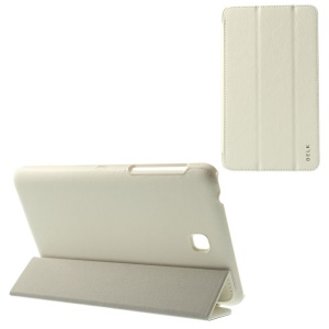 BELK Tri-fold Stand Smart Leather Cover for Samsung Galaxy Tab 4 7.0 T230 - White