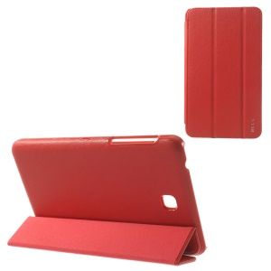 BELK Tri-fold Stand Smart Leather Cover for Samsung Galaxy Tab 4 7.0 T230 - Red