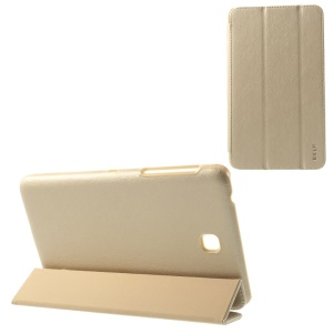BELK Tri-fold Stand Smart Leather Case for Samsung Galaxy Tab 4 7.0 T231 - Champagne