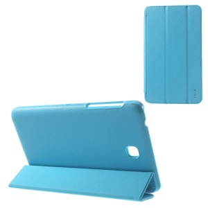 BELK Tri-fold Stand Smart Leather Shell for Samsung Galaxy Tab 4 7.0 T235 - Blue