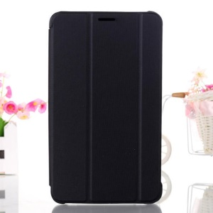Black Tri-fold Stand Leather Smart Case for Samsung Galaxy Tab 4 7.0 T230 T231 T235