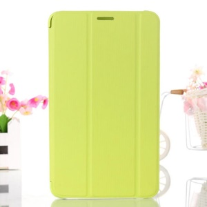 Green Tri-fold Smart Leather Stand Case for Samsung Galaxy Tab 4 7.0 T230 T231 T235