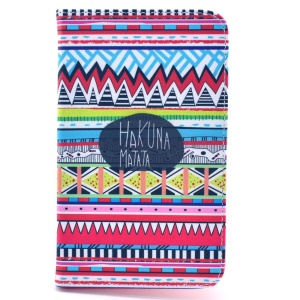 Tribal Tribe Hakuna Matata Stand Leather Protective Case for Samsung Galaxy Tab 4 7.0 T230 T231 T235