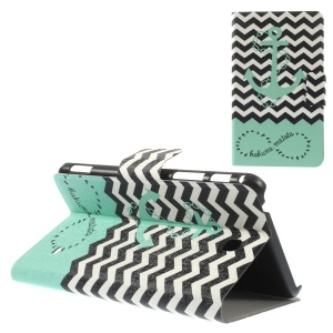 Chevron Stripe & Anchor